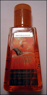 PocketBac Sweet Cinnamon Pumpkin