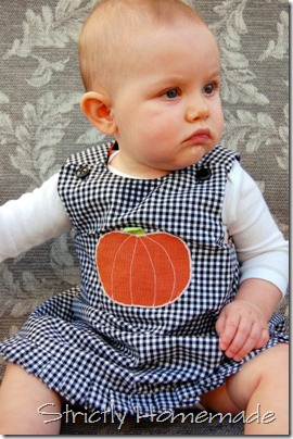 Cailyn Pumpkin Dress