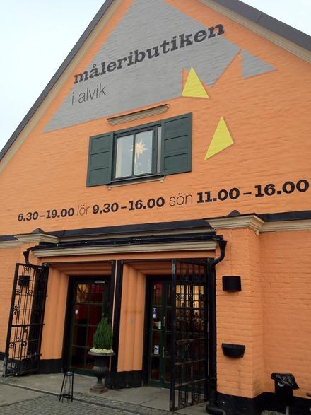 Måleributiken i Alvik
