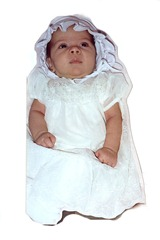 Baby 1 Baptism Gown