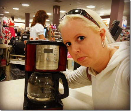 Bye Mr Coffee 5-12