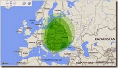 Ancestry DNA EUROPE EASTmap