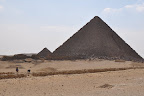 Menkaure's Pyramid and the Queens' Pyramids