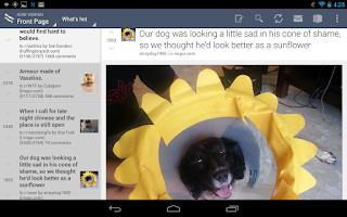Screenshot of BaconReader for Reddit