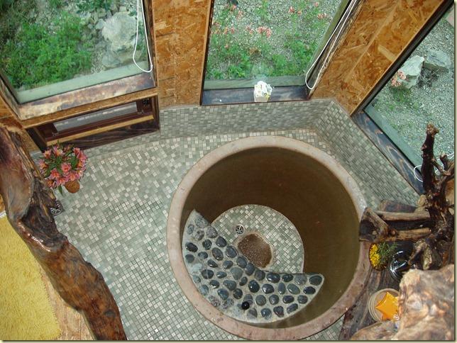 樹屋內泡澡池