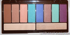 LORAC GLOgetter Eye Shadow Palette Inside