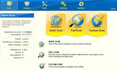 Free Zillya! Realtime Antivirus