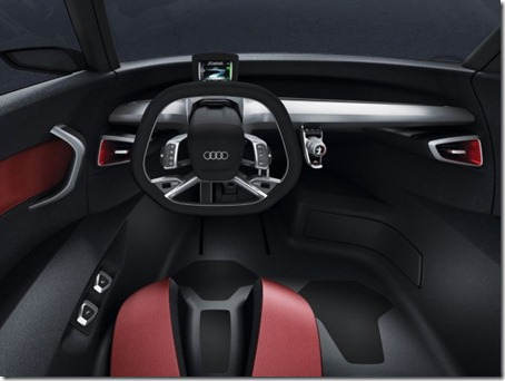 2011 Audi Urban Concept cockpit