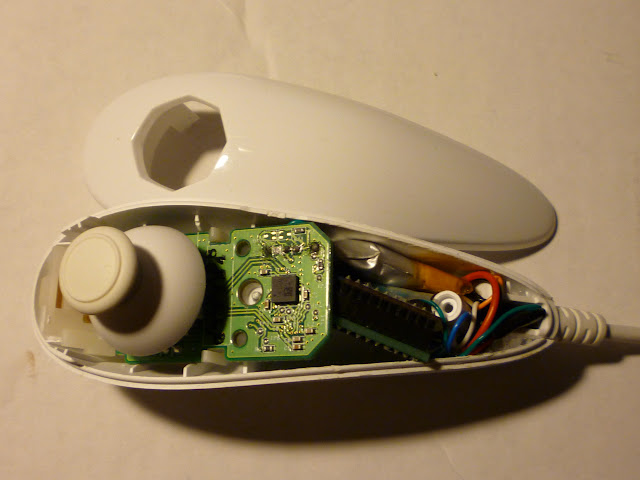 Wireless Wii Nunchuck - P1010346.JPG