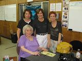 May: Elaine Goldberg, Mimi Trenchard, Freyda Nathanson, Wanda Werber