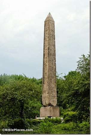 110724879tb Egyptian obelisk, aka Cleopatra's Needle