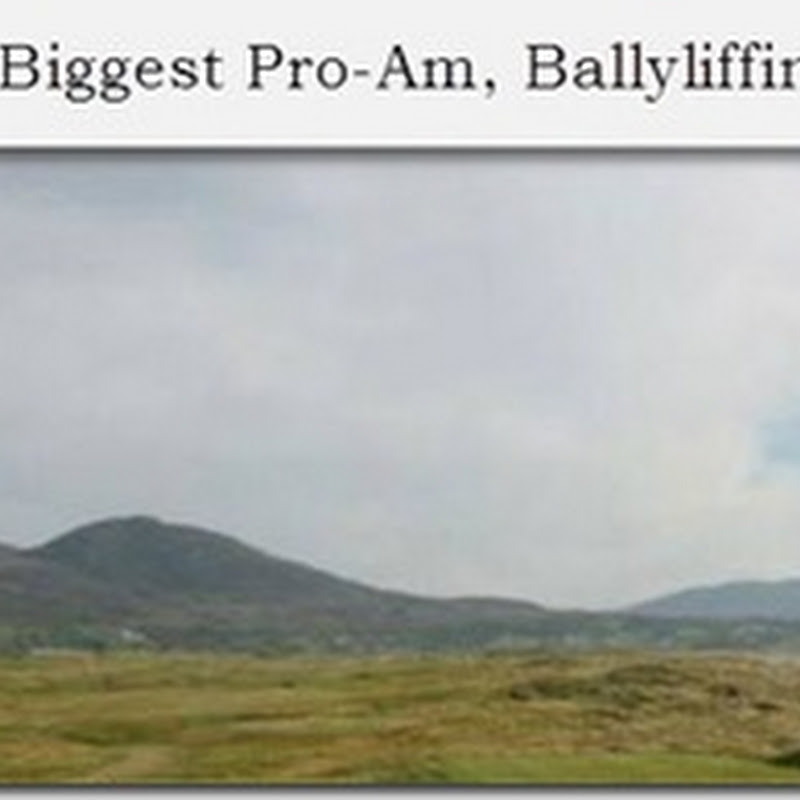 Join Us At Europe's Largest Pro-Am at Ballyliffin Golf Club July 28th & 29th 2012