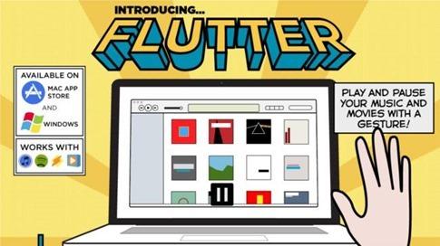 Flutter para Kinect