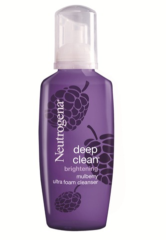 Neutrogena Deep Clean Brightening Mulberry Ultra Foam Cleanser 2