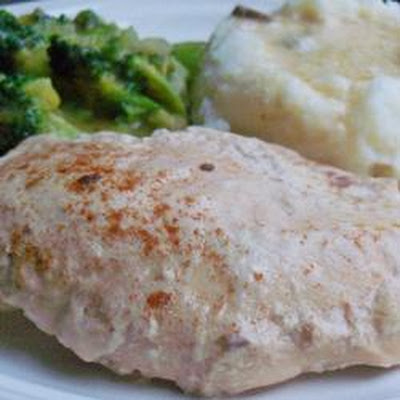 Slow Cooker Chicken Parisienne