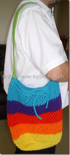 2012 rainbow market bag