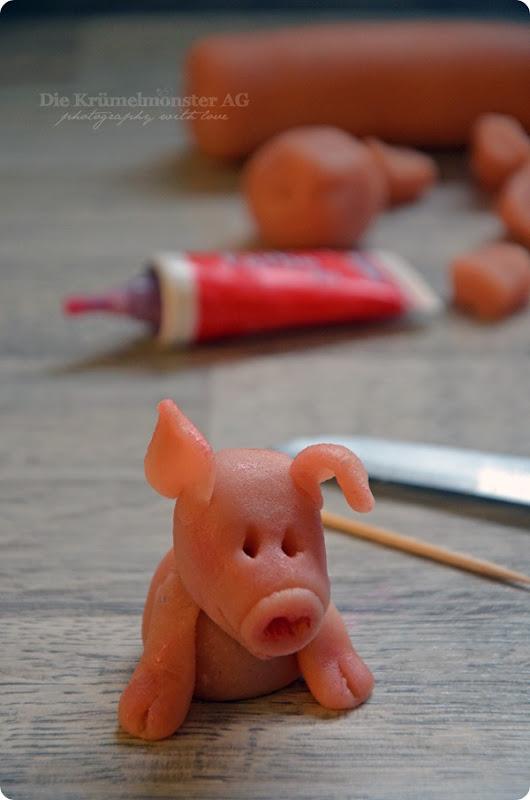 M wie Montag oder ... Matscheschweinchentorte improvisiert (5)