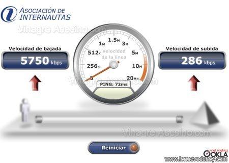 mayor velocidad de internet en el mundo