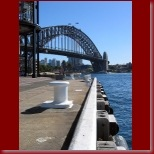 The Sydney Harbour Bridge from Overseas Passenger Terminal at Sydney Cove_t