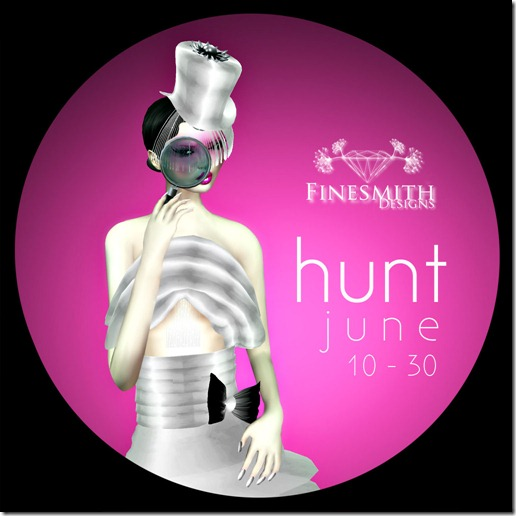 FineSmith Designs - JUNE HUNT POSTER