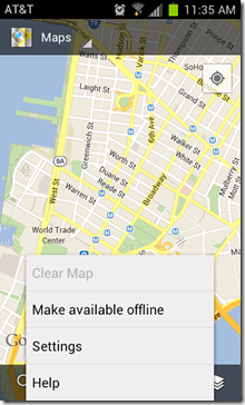 google-maps-offline-access