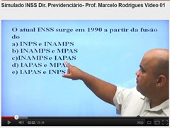 INSS - Questões comentadas de Direito Previdenciário - Prof Marcelo Rodrigues