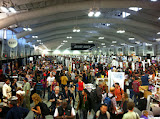 More crowds in the Artist Alley. SO much talent. Healthy envy.