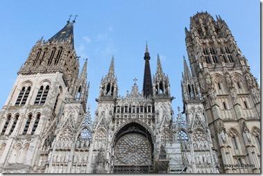 ルーアン大聖堂 Cathédrale Notre-Dame de Rouen