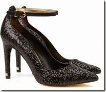 Ted Baker Glitter Ankle Strap Shoe