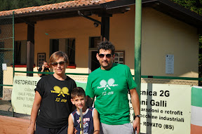 Faustino Biena, Debora Bassi e Sebastiano