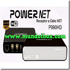 MEGABOX POWER NET P990 HD