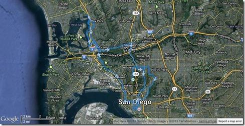 Running San Diego Rock n' Roll Marathon 6-2-2013