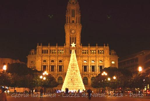 Glória Ishizaka - Luzes de Natal 2013 - Porto 3 - Aliados 7