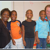 WBFJ Cici's Pizza Pledge - Mineral Springs Elementary - Ms. Guiles' K-1 - Winston-Salem - 9-26-12