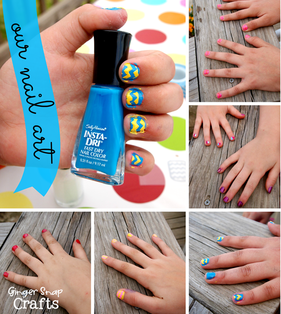our #nailart #cbias #iheartmynailart