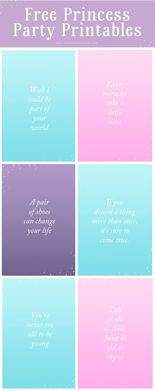 Sleeping Beauty DVD, Princess Makeover, Princess Party Printables, Princess Quotes