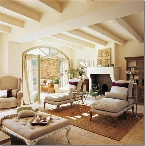 case e interni - casa campagna -  stile country -Spagna (2)