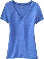 Womens Tri-Blend V-Neck Tee