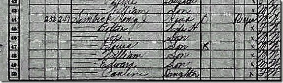 1930 Census V Simbecks parents