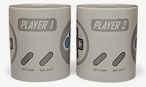 2 Player Gaming Mug Set from ThinkGeek 2