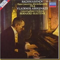 Rachmaninov Conciertos piano 2 4 Ashkenazy Haitink