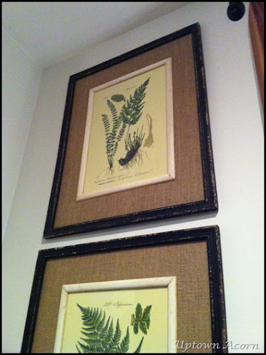 Amazing I have wanted to change the art on the rear wall in the den and breakfast rooms for some time The green fern botanicals fill the wall from floor to ceiling