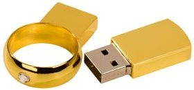 Wedding ring  USB flash drive 2