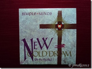Simple Minds, New Gold Dream