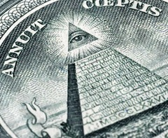 Pyramid of money?