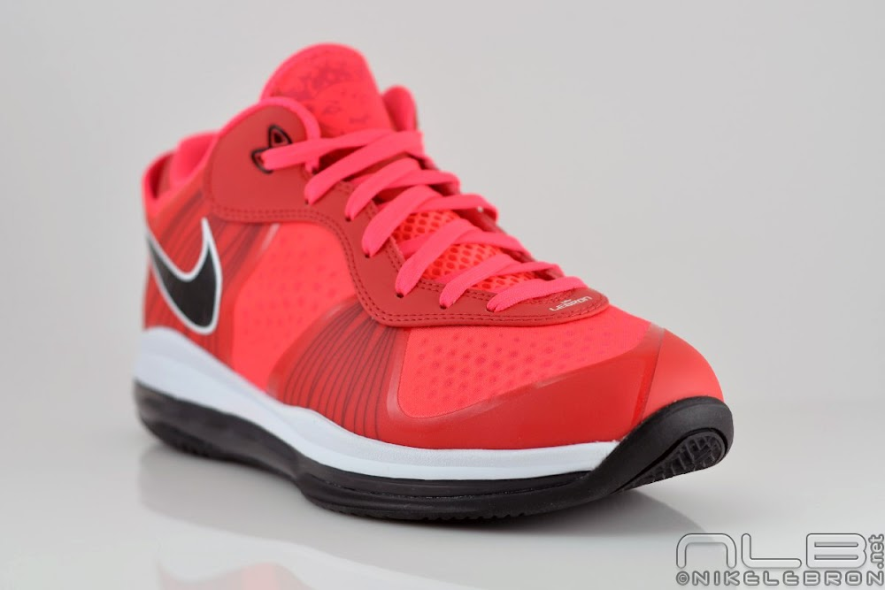 lebron 8 low red - photo #28