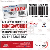 Paradigm Mall GP Sale 2013 Branded Shopping Save Money EverydayOnSales