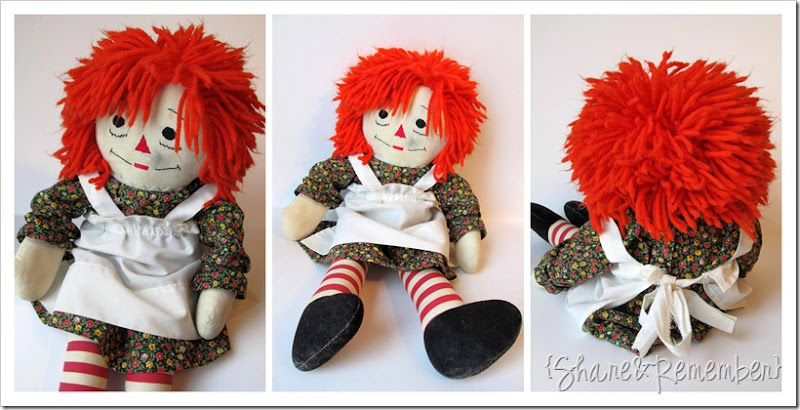 Raggedy Ann Doll