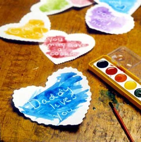secret message hearts valentines day