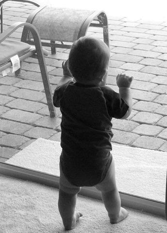 Baby in Kindergarten